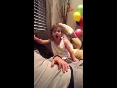 F*** You! Little girl learns how to swear