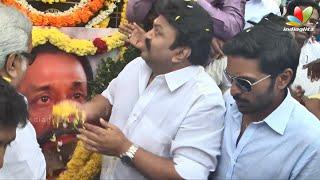 Prabhu, Vikramprabhu remember Sivaji Ganesan on his birthday