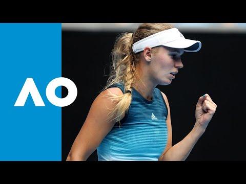 Johanna Larsson v Caroline Wozniacki match highlights (2R) | Australian Open 2019