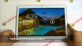- UNBOXING AND TEST - TACTILE TABLET I960 3G ANDROID 4.4