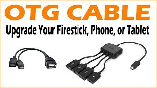 OTG Cable - Upgrade Your Firestick, Phone, or Tablet
