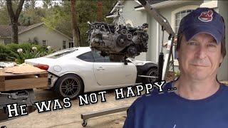 I RUINED the replacement BRZ Engine......