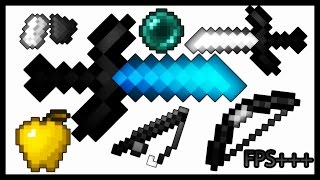 MINECRAFT PVP TEXTURE PACK - DEFAULT EDIT UHC FPS+++ 1.7.X/1.8.X