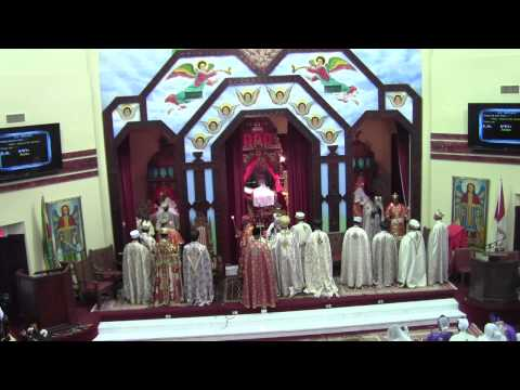 First Kidase (Liturgy) @ Toronto St. Mary Ethiopian Orthodox Tewahedo Cathedral - (Nov. 18, 2012)