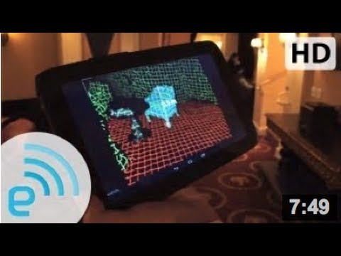 PrimeSense demos Capri 3D sensor on Nexus 10 | Engadget at Google I/O 2013