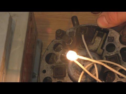Видео как проверить работу генератора ВАЗ 2106