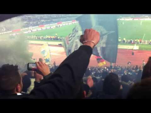 Lazio 1-0 Inter, tifosi in delirio al gol di Klose (Dicembre 2012)