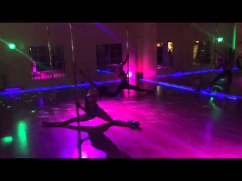 Sarah Jade & Alethea Austin Exotic Dance Pole Flow And Bodywaves video