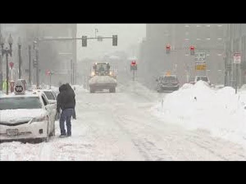 Winter Storm Hits NorthEast on 1st Week Spring, Alarms Boston