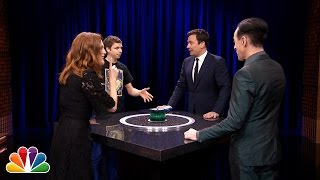 Catchphrase with Julianne Moore, Michael Cera and Alan Cumming