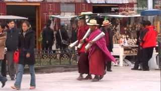 Streetlife in Lhasa, Tibet - China Travel Channel
