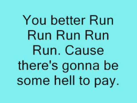 Kesha- Run Devil Run lyrics