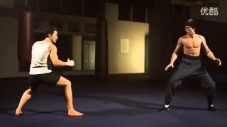 Donnie Yen vs Bruce Lee GREAT ANIMATION)