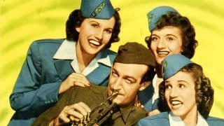 PRIVATE BUCKAROO   The Andrews Sisters   Full Length Musical Comedy Movie   English   HD