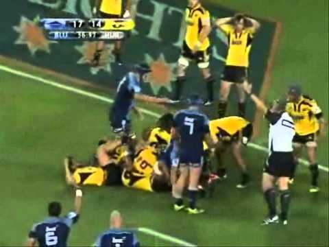 Blues vs Hurricanes - Super Rugby 2011- Rd.5-