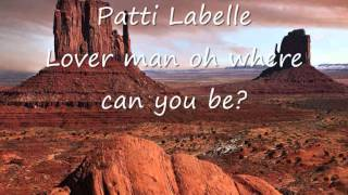 Watch Patti Labelle Lover Man (oh Where Can You Be) video