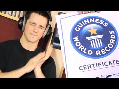 Fastest Clapper - 804 in 1 minute - Guinness World Record
