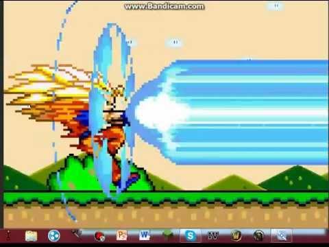 Mario Bros Vs Goku Animacion video
