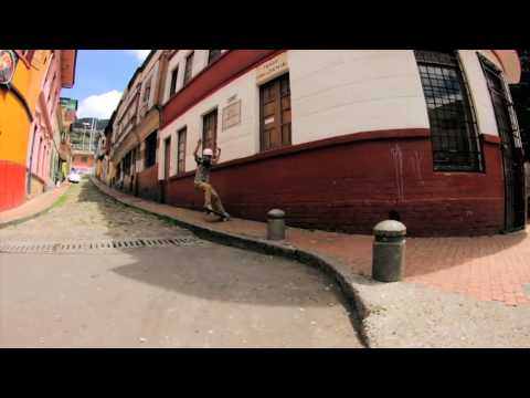 Longboarding: Bruno & Camilo in Bogota Part 1