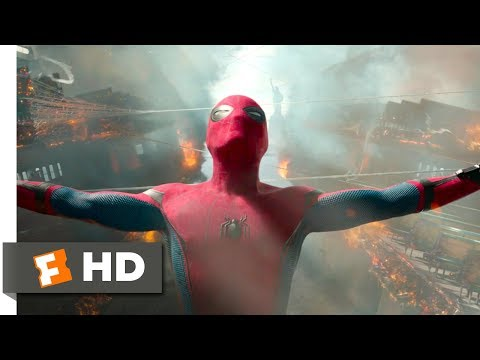 Spider-Man: Homecoming (2017) - Ferry Fight Scene (5/10) | Movieclips thumbnail