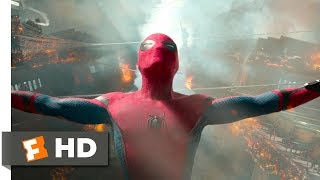 Spider-Man: Homecoming (2017) - Ferry Fight Scene (5/10) | Movieclips