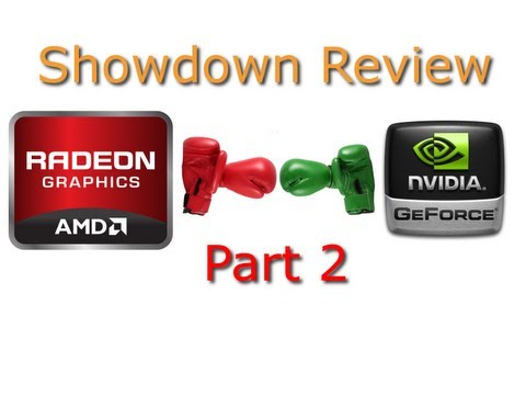 AMD Radeon HD7870 vs Nvidia GTX 660Ti Showdown Part 2 Review