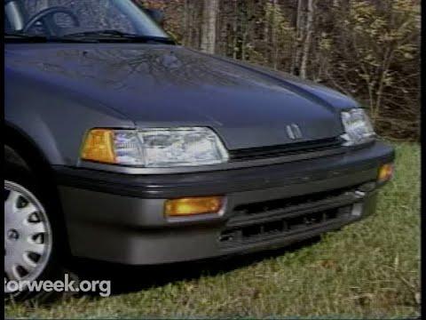MotorWeek | Retro Review:  '88 Honda Civic