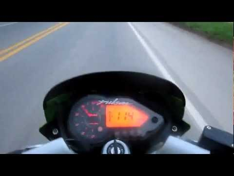 Pulsar 220 Top Speed Jair.wmv video
