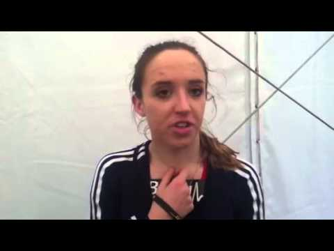 Emelia Gorecka winner in Great Edinburgh XC 2013
