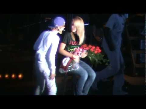 One Less Lonely Girl trying to kiss justin bieber!