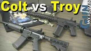 Compare AR15; Colt vs Troy Defense