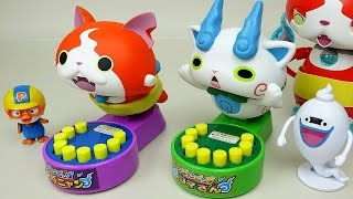 Missile and hammer toys Youkai Watch with Pororo Tobot car toys
