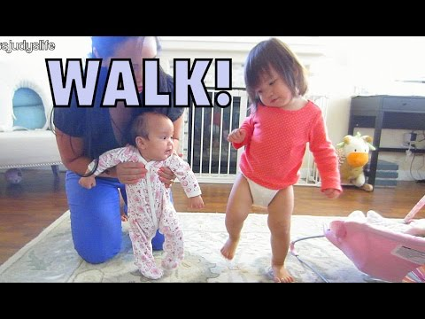 Learning to Walk! - July 17, 2014 - itsjudyslife daily vlog