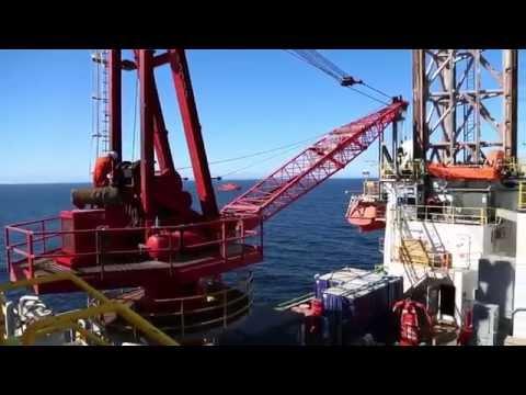 Exploratory drilling in the Pechora Sea (Dolginskoye field)