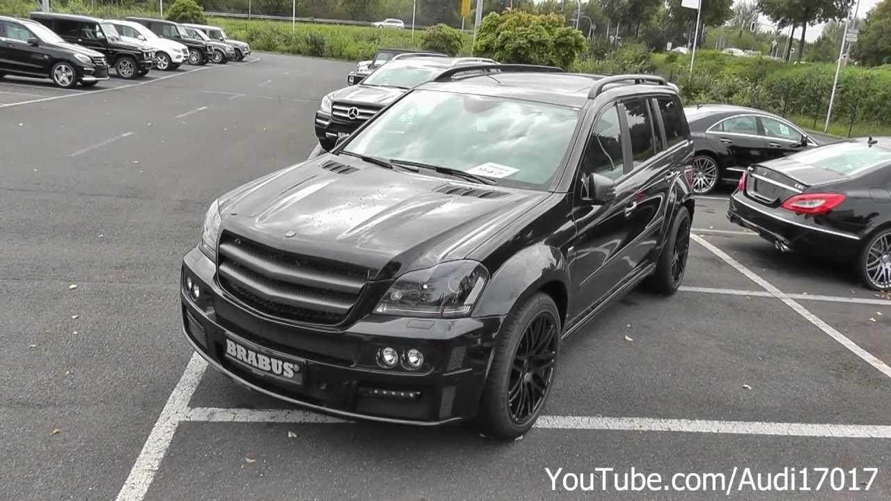Brabus Mercedes Gl 63 Biturbo Full Hd Youtube