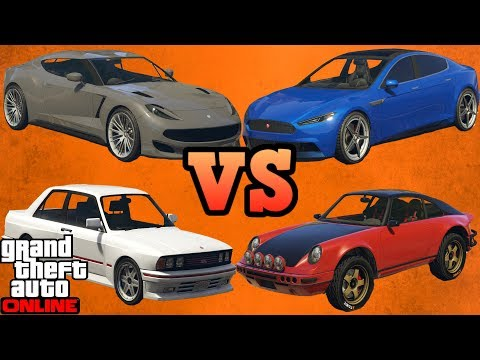 Raiden VS Pariah VS Comet safari VS Sentinel classic! - GTA Online guides