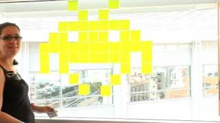 Une guerre de post-it en plein cœur de Paris