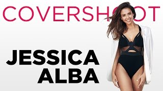 Jessica Alba Cover Shoot | Behind The Scenes | Shape