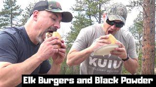 Colorado Elk Burgers On The Blackstone Griddle