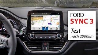 Ford SYNC 3 Test: Erfahrungen zu Navi, AppLink & Android Auto | deutsch