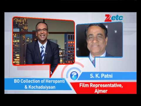 Heropanti & Kochadaiiyaan - Box Office Collection - ETC Bollywood Business - Komal Nahta