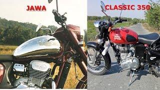 JAWA vs ROYAL ENFIELD 350 - Detailed Comparison