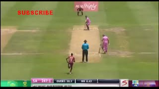 AB Devilliers 149 runs of 44 balls Full Innings ( World Record )