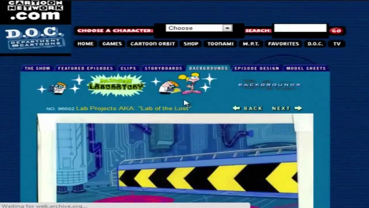 Cartoon Network Website From 2000 2001 Youtube