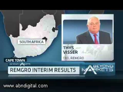 Remgro Interim Results with CEO Thys Visser