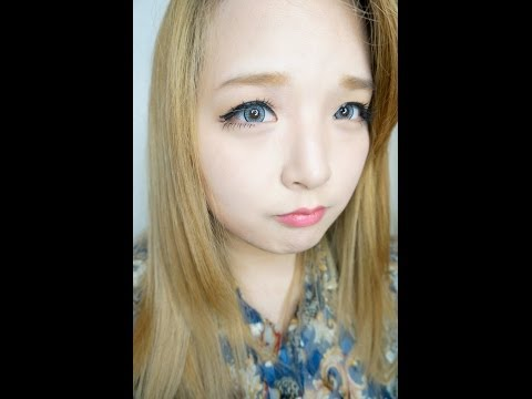 (Natural AMY   Gyaru Look) Tutorial makeup Japanese Makeup japanese  tutorial natural AMY