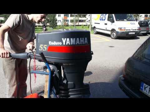 YAMAHA TWO STROKE ENDURO E55 CMHS Outboard Engine 55 HP