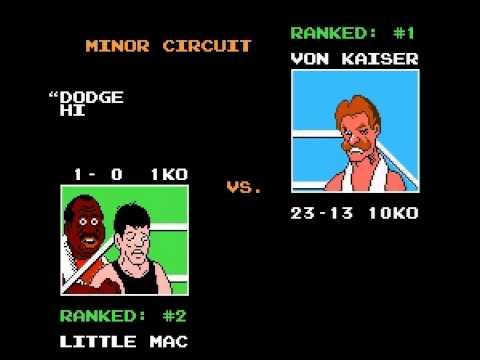 Punch-Out!! - Punch-Out!! Playthrough - Part #1: Minor Circuit - User video