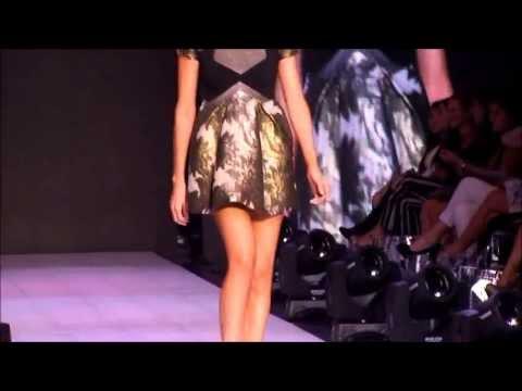 Leonora Jiménez Fashion Week San José 2013 presentado por Mercedes Benz