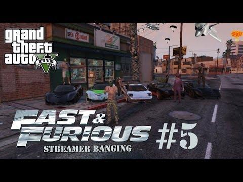 "GTA 5 Online ""GTA V Online Fast & Furious 5 Streamer Banging"" Gameplay LIVESTREAM [HD]"